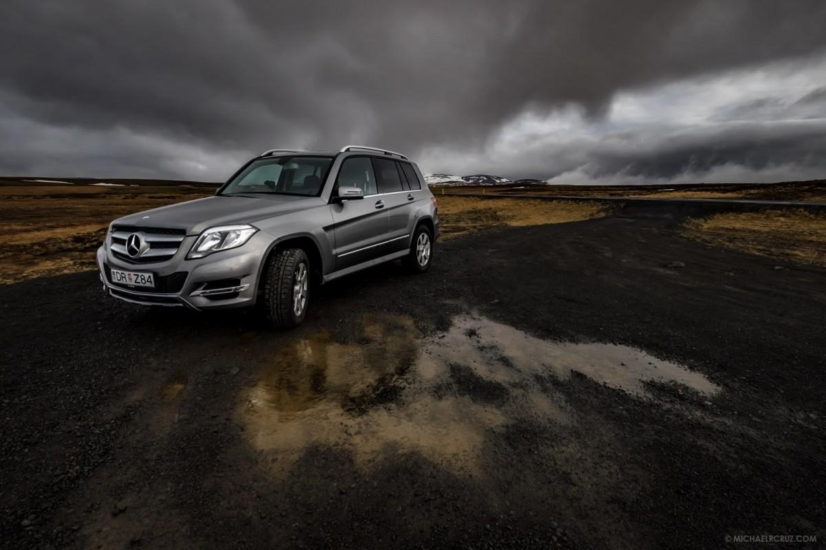 My Rental Car In Iceland Michael R Cruz Dubai Photographer