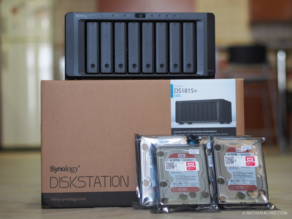 Michael Cruz Dubai Photographer Synology NAS device