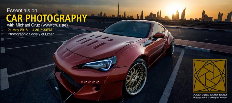 Michael R. Cruz Dubai Photographer Car Photography Workshop Nikon School