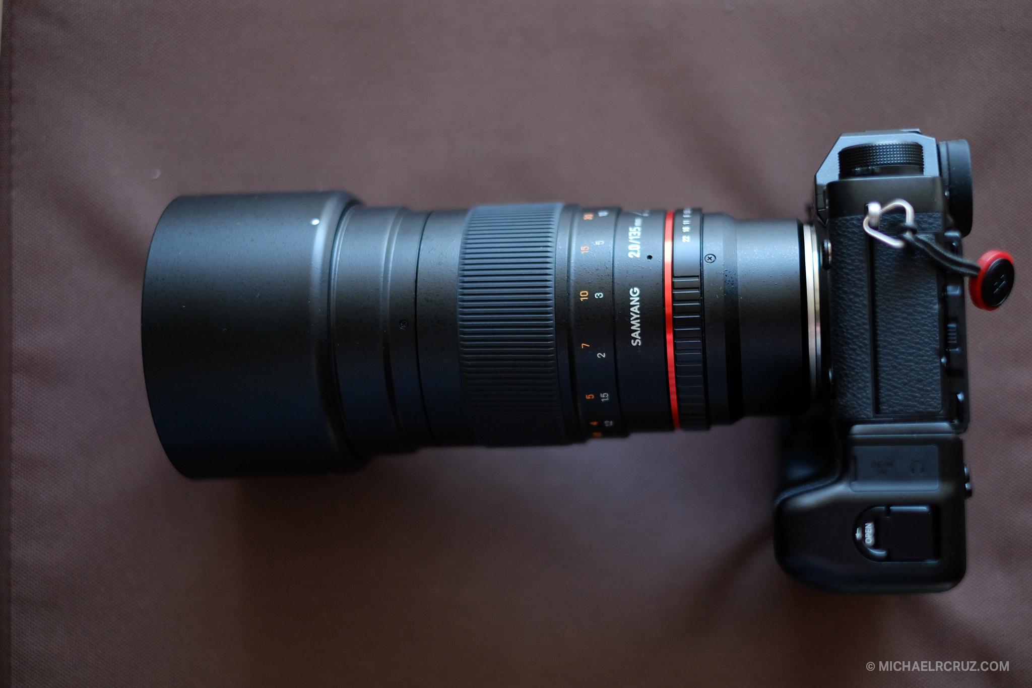 Samyang 135mm F2 with Fujifilm mount Review  Dubai, UAE