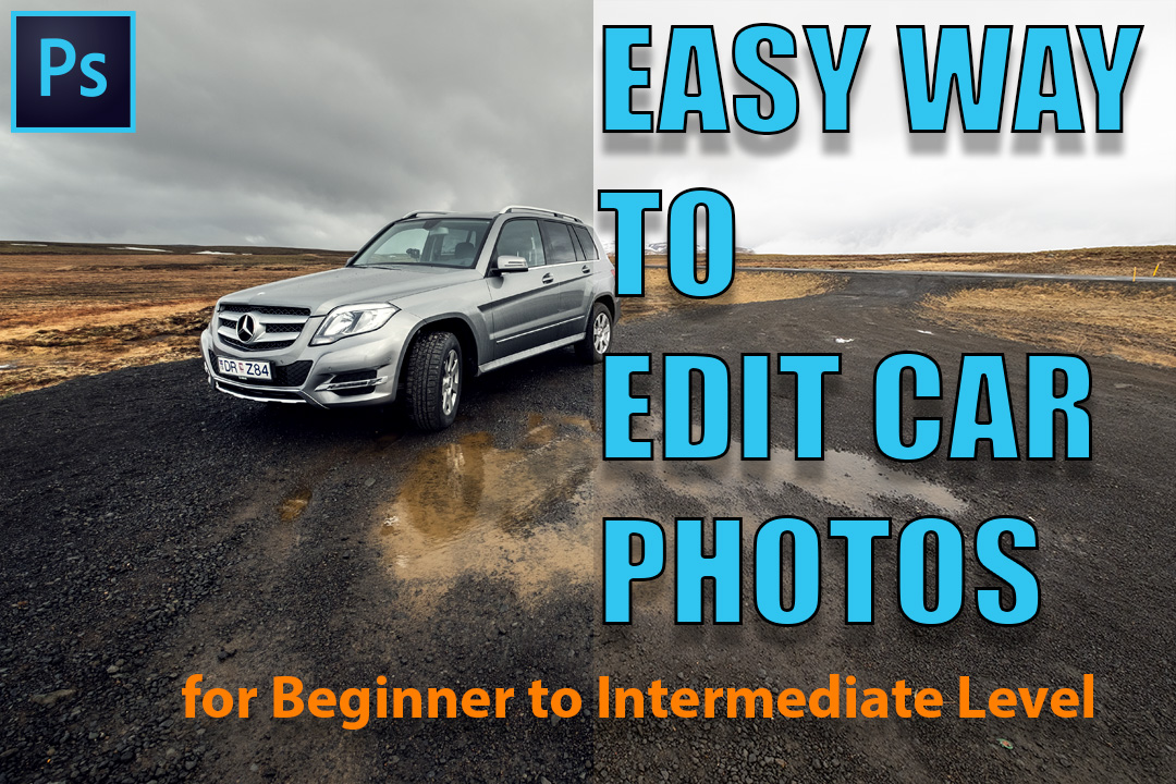 Car Editing Tutorial : Quick and easy way + Bonus Color Toning in Photoshop (Basic to Intermediate Level) by Michael R. Cruz
